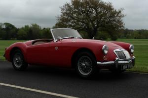 MGA ROADSTER 1958 SUPERB LHD JUST HAD THOUSANDS SPENT