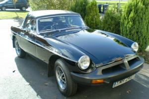 1978 MG B BLACK