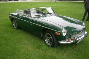 1970 MGB with Chevy V6