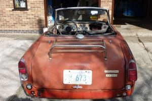 Triumph TR 250 For Restorsation From USA