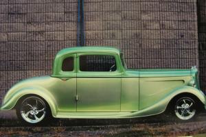 1934 Hudson Essex Terraplane Coupe - Modified/Tutone Green Paint