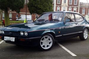 1987 FORD CAPRI 280 BROOKLANDS VERY RARE CAR IN MINT CONDITION FULLY RESTORED