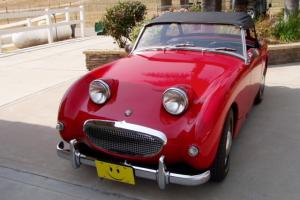 sports car, British Motors AustinHealey Sprite, Exlt cond, Classic,convertible
