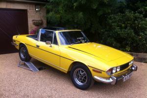 1974 Triumph Stag Full strip restoration, V8 3.5 rover excellent conversion
