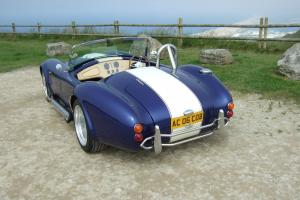 AC COBRA 427 (AK) KITCAR, BLUE WITH STRIPES. REDUCED, REDUCED, REDUCED, REDUCED