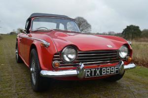 1968 Triumph TR5 Red Classic Car