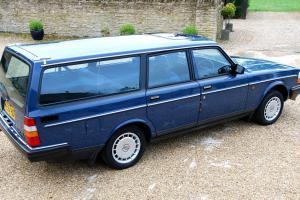 SUPERB 1991 VOLVO 240 GL AUTO ESTATE TOTALLY ORIGINAL GENUINE 64,000 MILES