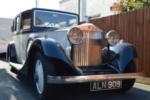 1933 ROLLS ROYCE 20/25 Limousine by Thrupp
