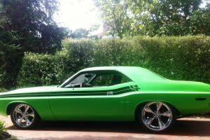1971 Dodge Challenger Mopar HOT ROD Dodge Chrysler Valiant Ford Monaro