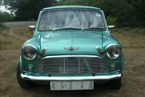 1980 Mini with Rally Specifications in Metallic Green