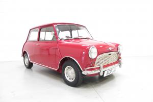 A Very Early Ex-Concours Winning Morris Mini Minor De-Luxe