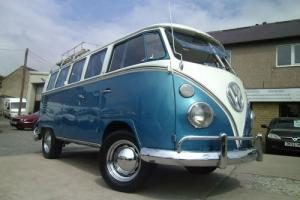 1966 Volkswagen split screen camper van, classic oldskool dub