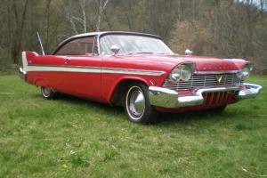 1957 PLYMOUTH BELVEDERE,  2-DOOR HARDTOP,   V8,  AUTO,
