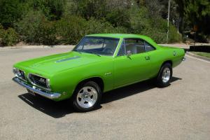 1968 Plymouth Barracuda,440,727,Dana 60,Sublime green