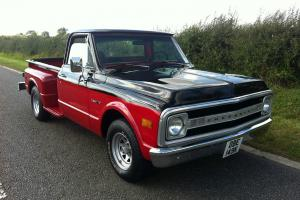 CHEVROLET C10 PICKUP TRUCK CUSTOM 1972