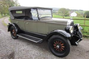 Classic 1927 Chrysler Series 60 Tourer pale green