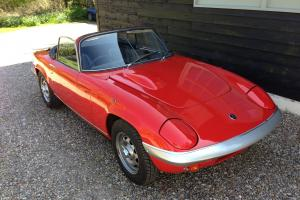 Lotus Elan S4 drophead, rare and gorgeous original