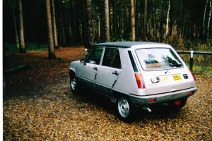 1982 MK1 RENAULT 5 AUTO SILVER 5 Door