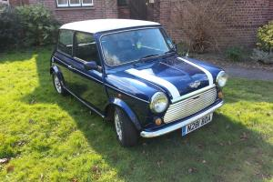 Rover mini  Blueandwhite eBay Motors #310685404883