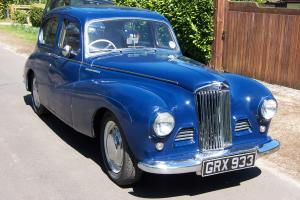 Sunbeam Talbot 90 MKII Floor change, overdrive, factory sunroof, great driver