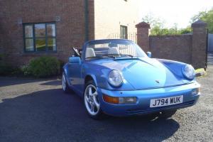 1991 Porsche 911 964 Carrera , convertible, classic car, TVR,SL,TT  Photo