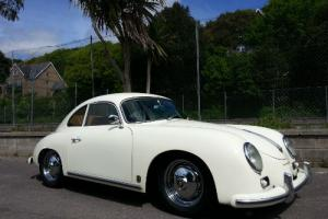 1958 Porsche 356A Coupe Replica LHD in Ivory