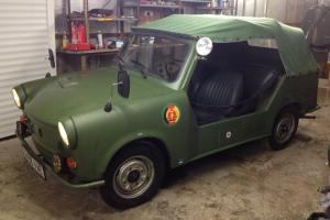 Trabant Kubel Military Convertible Wartburg DDR Jeep VW Thing Part Ex Swap