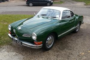 VW VOLKSWAGEN KARMANN GHIA 1971 RIGHT HAND DRIVE