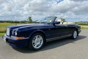 1998 Bentley Azure in Peacock Blue with Cream Leather for Sale
