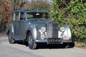 1950 Rolls-Royce Silver Dawn 'Small Boot' Saloon. for Sale