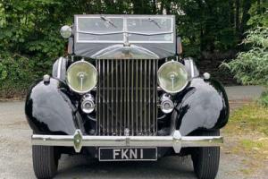 1938 Rolls-Royce Phantom III Freestone & Webb Four Door Cabriolet for Sale
