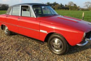1972 Rover 3500 S MANUAL S HISTORIC Saloon Petrol Manual for Sale