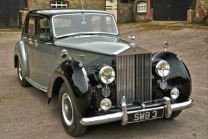 1953 Rolls-Royce Silver Dawn Auto Standard Steel Saloon for Sale