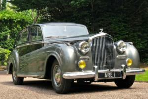 1952 BENTLEY R TYPE James Young Saloon                         The Motorshow Car for Sale