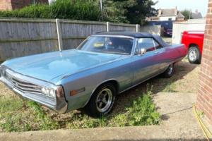 Chrysler Newport convertible 1970 no reseve on sale from 1st bid for Sale