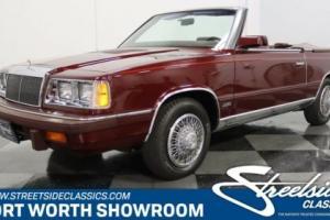 1986 Chrysler LeBaron Convertible for Sale