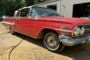 1960 Chevrolet Impala 1960 Impala Convertible PROJECT BARN FIND for Sale