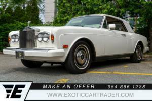 1985 Rolls-Royce Corniche Drophead for Sale