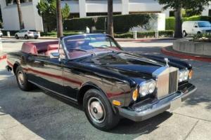 1981 Rolls-Royce Corniche CLEAN CARFAX 12,076 ORIGINAL MILES for Sale