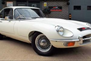 1970 Jaguar E-Type 4.2 Series II 2+2 RHD Old English White Great Example! for Sale