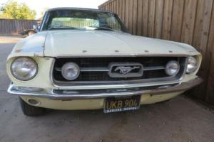 1967 Ford Mustang GTA     AC/ DISC / PS -  Factory GT for Sale