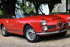 Alfa Romeo 2600 Spider RHD for Sale