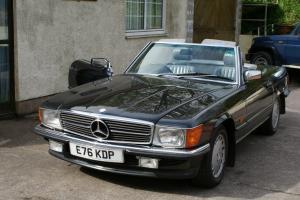 1987 Mercedes 420SL Auto,Blue/Black Superb restored condition