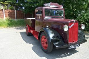 BEDFORD VINTAGE DROPSIDE PICKUP 1936 NEARLY 80 YEARS OLD SUPERB TRUCK