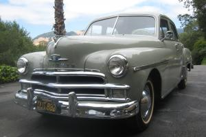 1950 Plymouth Special Deluxe Four Door Sedan, most all original