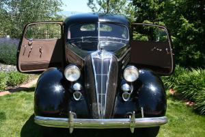 1936 Hudson Deluxe 2 Door Brougham