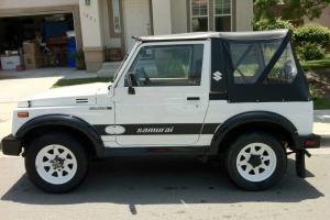 No Reserve!!!  1988 Suzuki Samurai JX Sport Utility 2-Door 1.3L