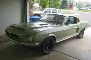 1968 Shelby GT 500 KR fastback  mustang 4 speed second owner car!