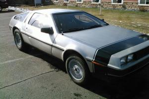 1981 DMC Delorean, 5 spd, gray leather, engine gone through, 21k miles Photo