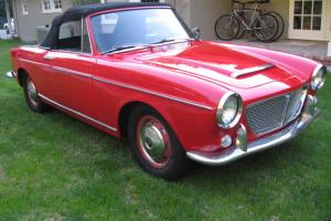 FIAT 1200 CABRIOLET 1500 TWIN CAM ENGINE